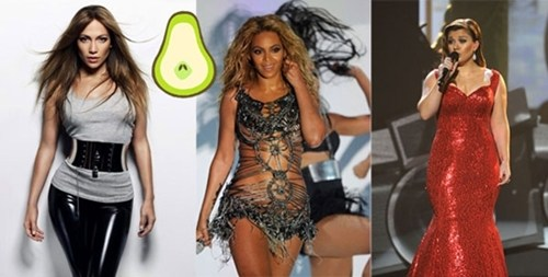 Pear Shaped Body Pictures